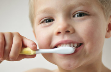 Boy Brushing - Pediatric Dentist in Fort Worth, TX